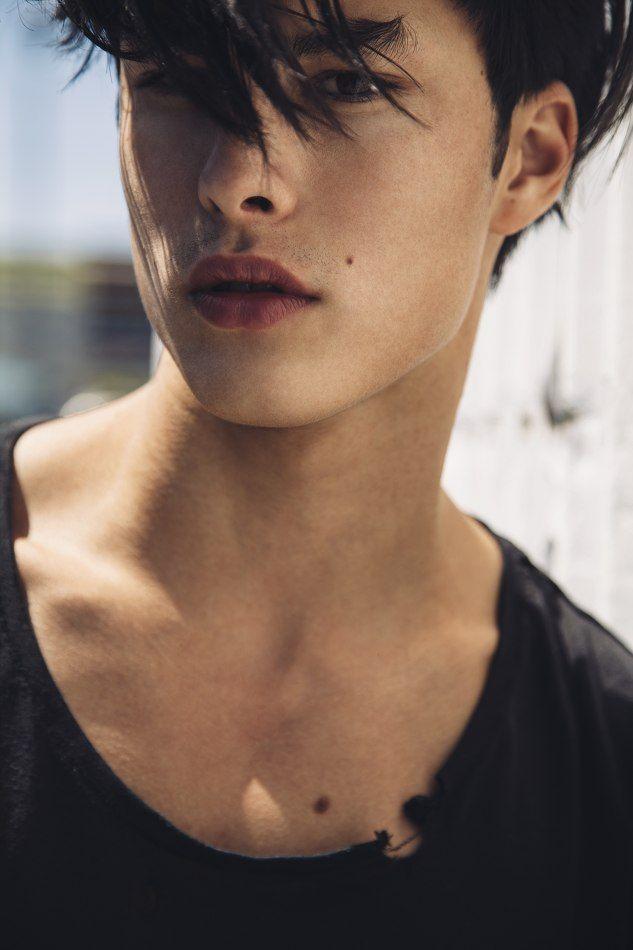 Half korean half white men