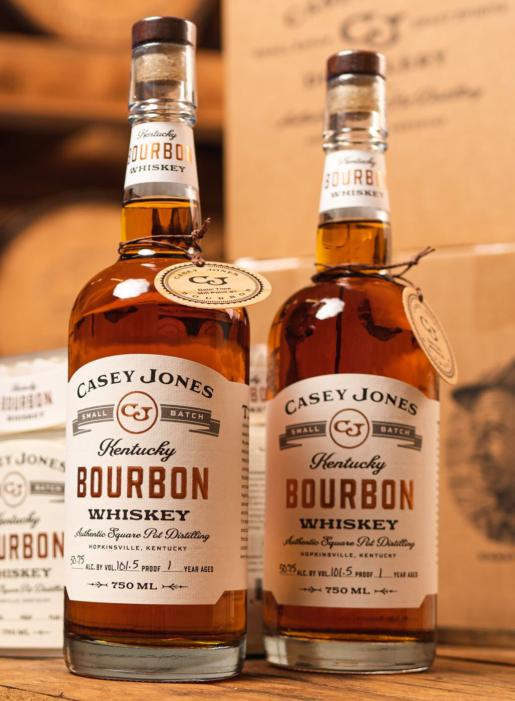 Photo of Casey Jones Distillery Launches 1st Small Batch Kentucky Bourbon Whiskey | Distillery Trail