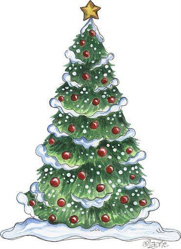 Arbol Navideno Decoracio Pinterest Navidad Dibujos And - Postales-navidad-dibujos