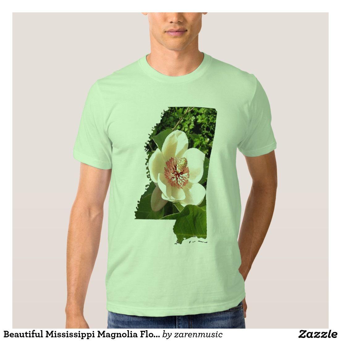 Beautiful Mississippi Magnolia Flower T Shirt Family Reunion Ideas
