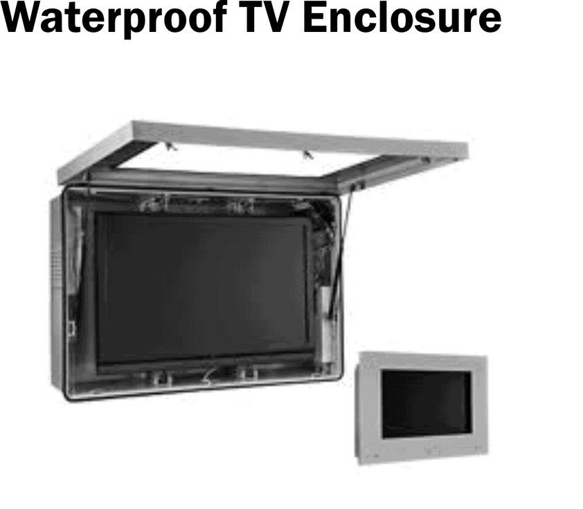 information outdoor cabinet weatherproof tv enclosure ideas reviews plans