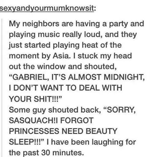 Loud party