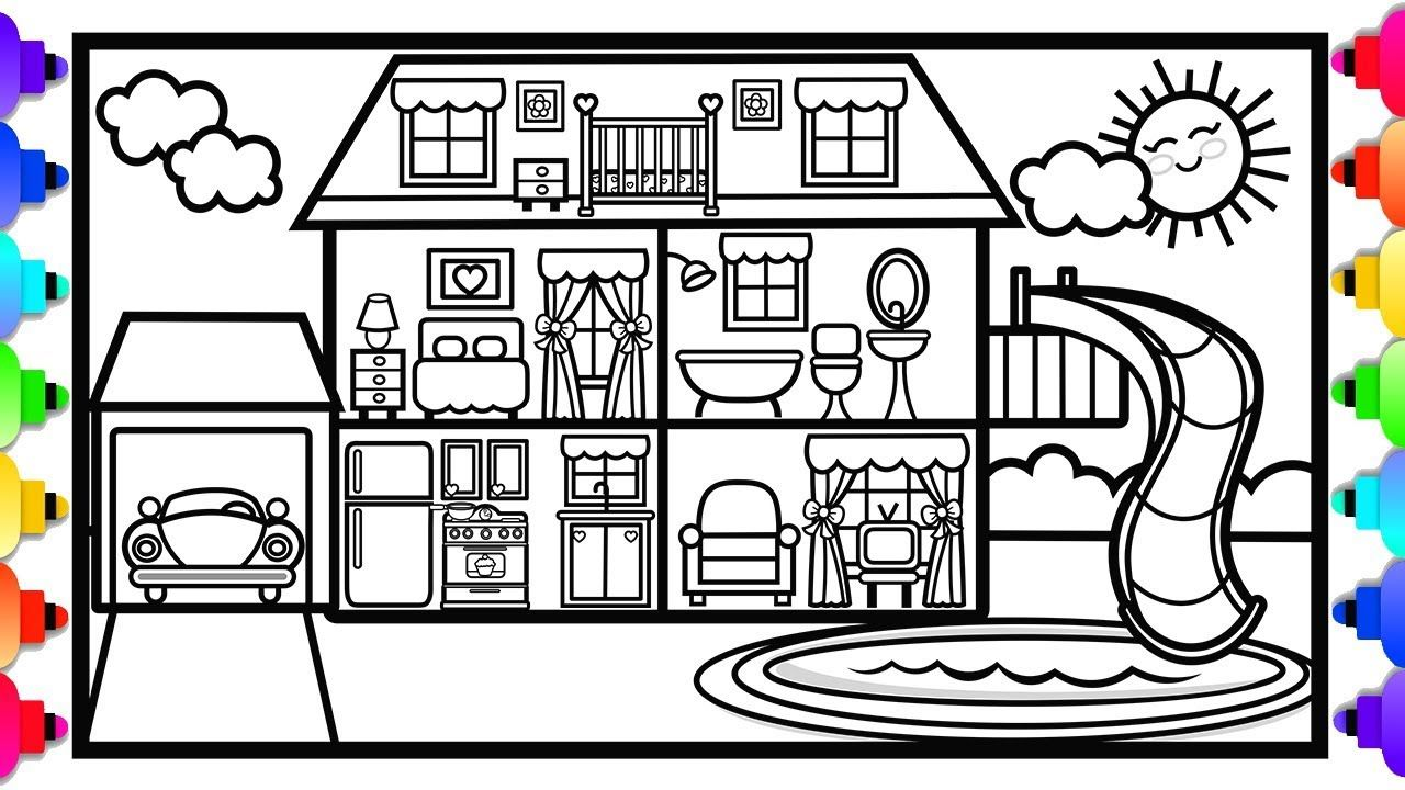 Pin on Cute Printable Coloring Pages Original Artwork by
