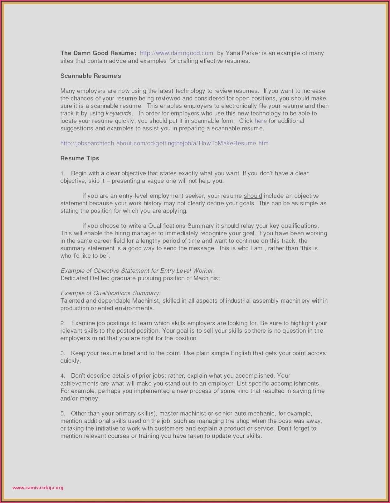 Resume Objective Statements Hr
