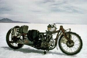 The World S Fastest Indian Built From A 1920 Indian Scout By Burt