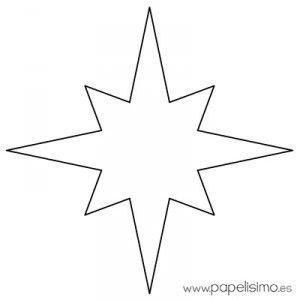 Estrella Imprimir Colorear Y Recortar 2 Estrellas Para Imprimir