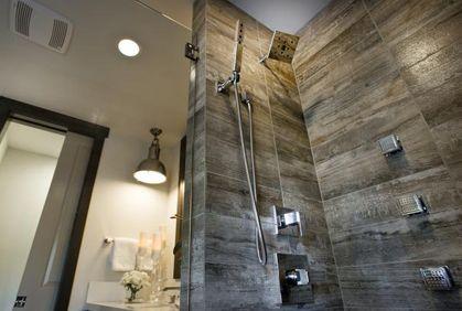bathroom shower tile design ideas photo gallery | hgtv