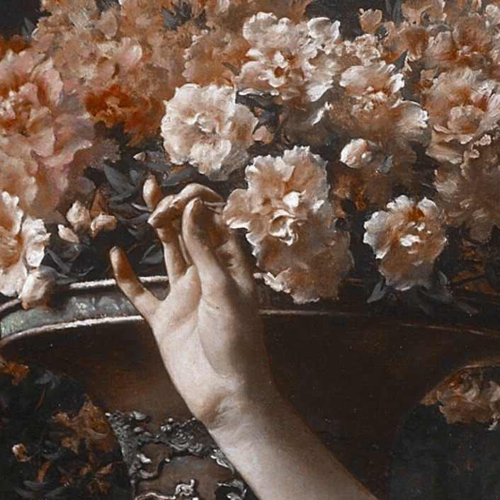 floral icons Tumblr Aesthetic art, Aesthetic painting