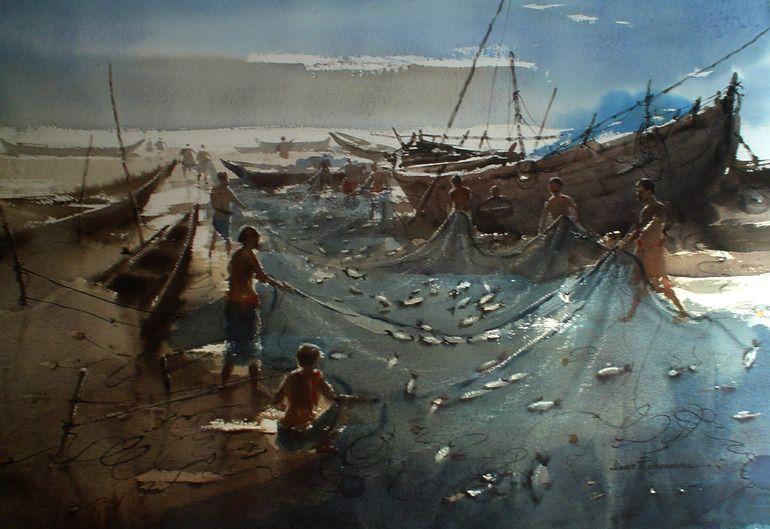 Fishing,  by Jiaur Rahman