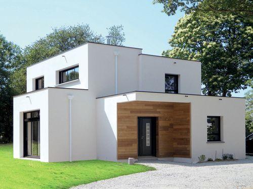 Maison moderne et économique Weekend house and House