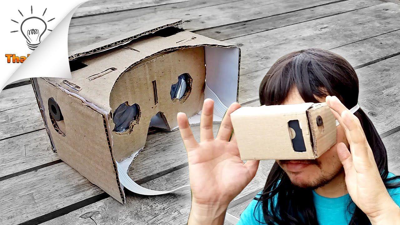 [DIY] How to make VR Headset Google Cardboard Thaitrick