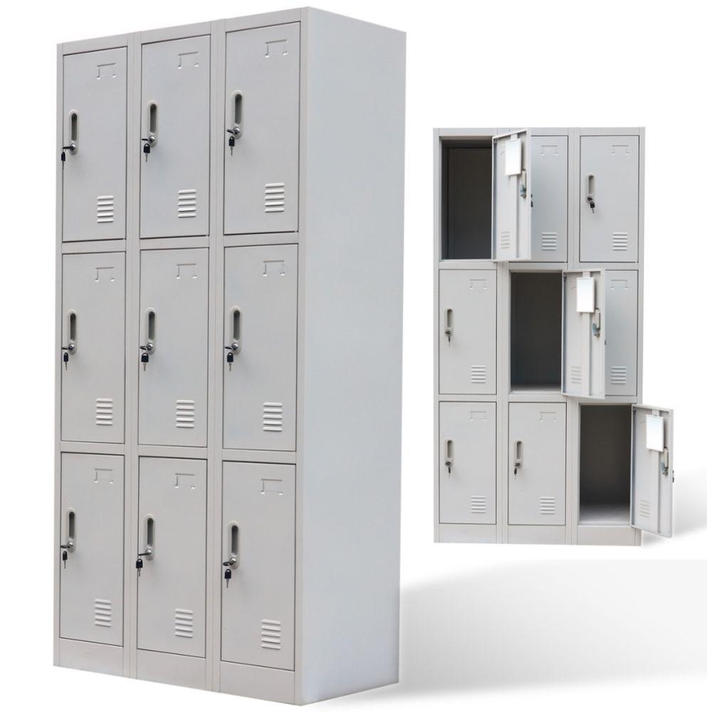 Metal Locker Cabinet Industrial Storage Safety Cupboard