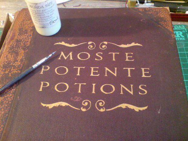 Harry Potter style Hogwarts Library Spellbooks