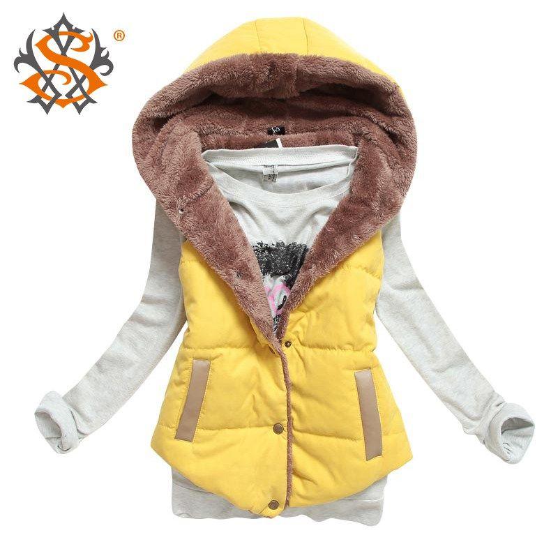 M-XXXL 2014 autumn winter plus size slim plus velvet vest thermal down cotton with a hood vest female all-match, free shipping - http://mixre.com/product/m-xxxl-2014-autumn-winter-plus-size-slim-plus-velvet-vest-thermal-down-cotton-with-a-hood-vest-female-all-match-free-shipping/