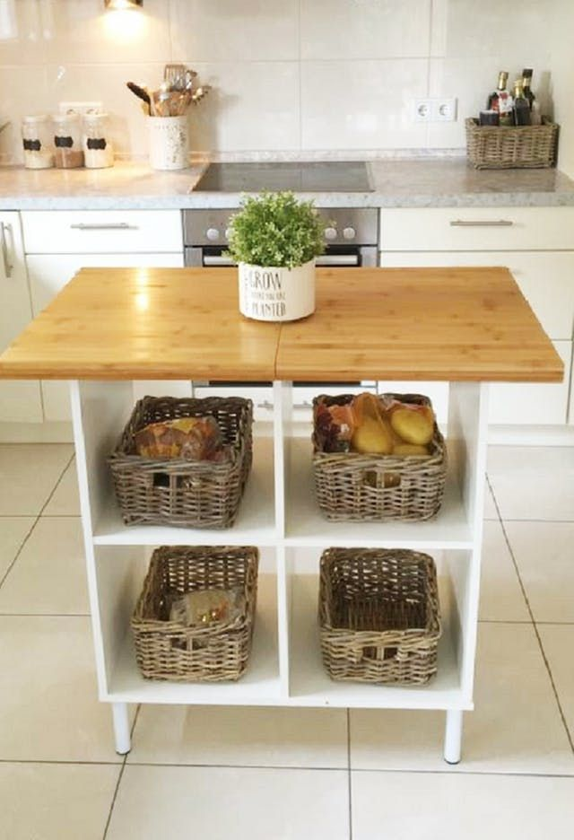 can t find or afford the kitchen island of your dreams make one from ikea parts kitchen on kitchen island ideas diy ikea hacks id=47993