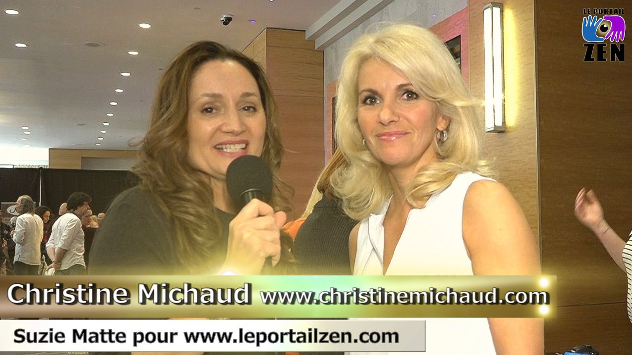 #christinemichaud #salondeleveil2016 #miracles #suziematte #smattevideowebmedia #leportailzen