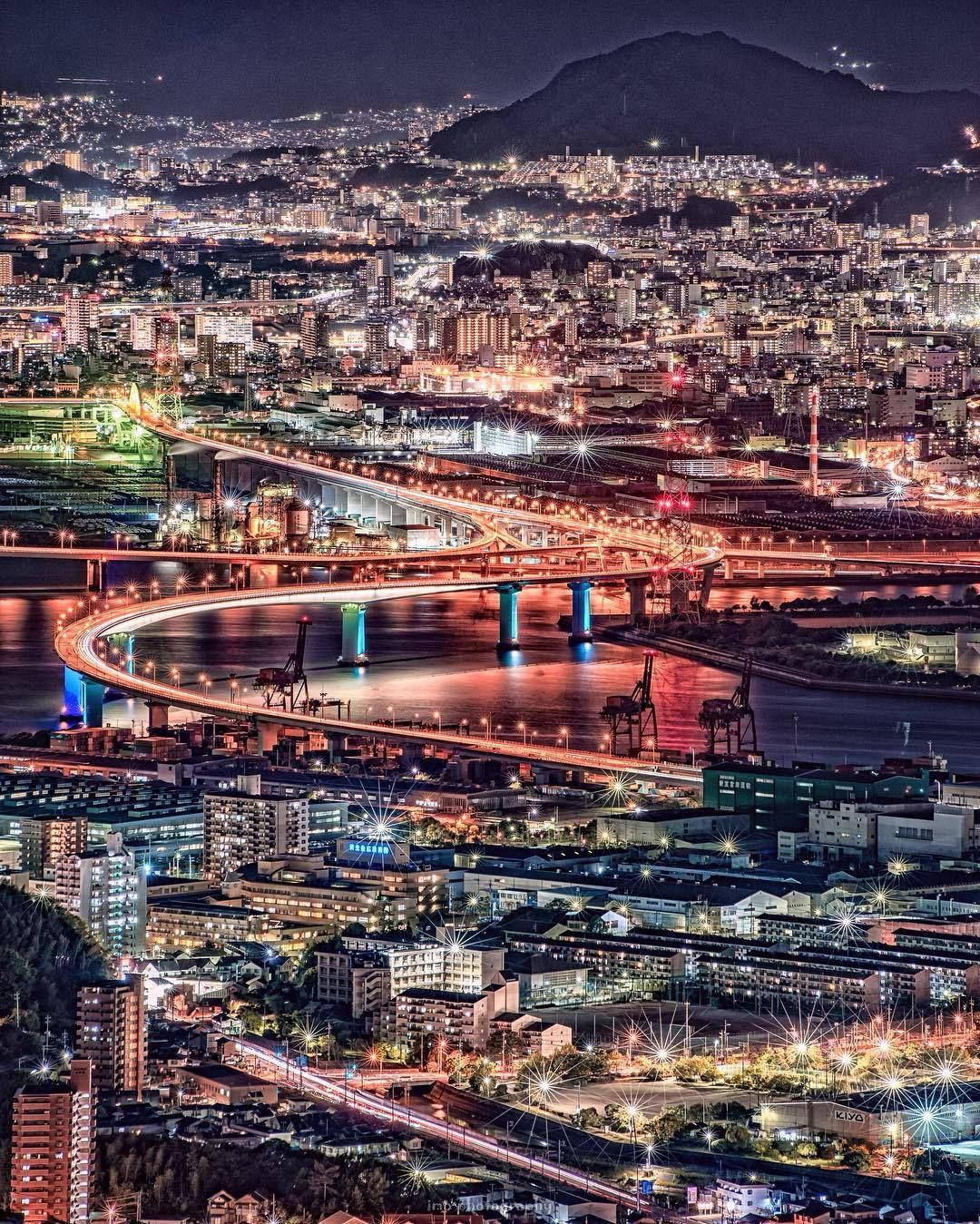 Night View Of Hiroshima By Imo Z As Showcased On Tokyo Camera