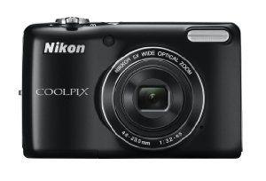 Nikon COOLPIX L26 16.1 MP Digital Camera with 5x Zoom NIKKOR Glass Lens and 3-inch LCD (Black)    Price: $99.95  http://www.amazon.com/gp/product/B0073HSKAA?ie=UTF8=thremuskforse-20=xm2=1789=B0073HSKAA