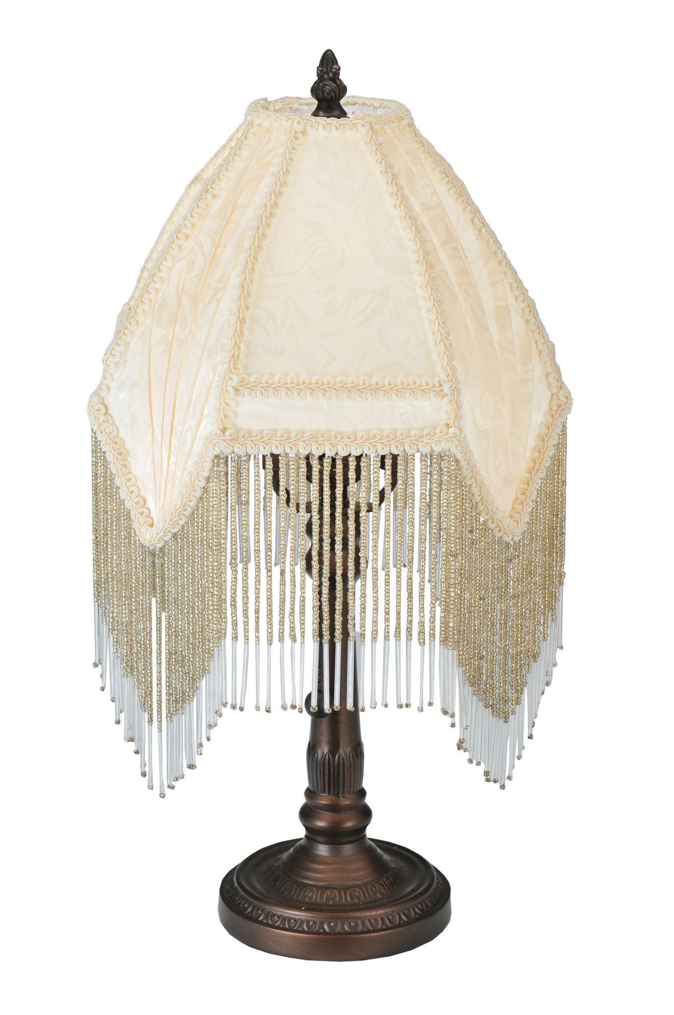 Meyda 13h arabesque fabric with fringe accent lamp products meyda 13h arabesque fabric with fringe accent lamp geotapseo Image collections