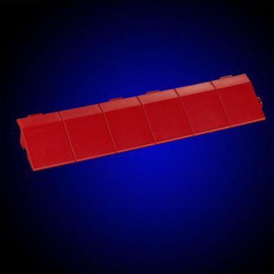 Rampenleiste in rot ohne Lasche zum EXPO-tent Zeltboden