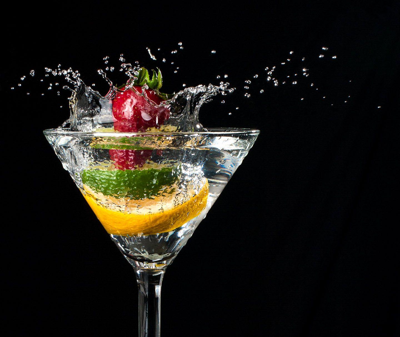 Fruit splash classic - Splash Martinimartini Glassvegetables Waterfruits