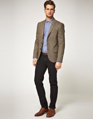 Tweed jackets are an effortless way to dress up denim. English ...