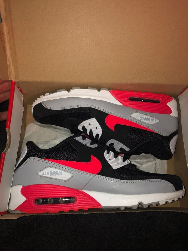 purchase cheap ffa98 079f5 New Men's Nike Air Max 90 Essential Shoes Sneakers Casual ...