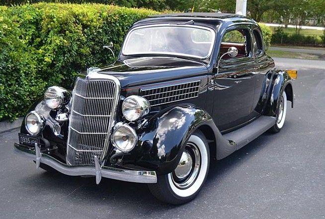 1935 Chevrolet Master Deluxe 4 Door Sedan Fvr Chevrolet