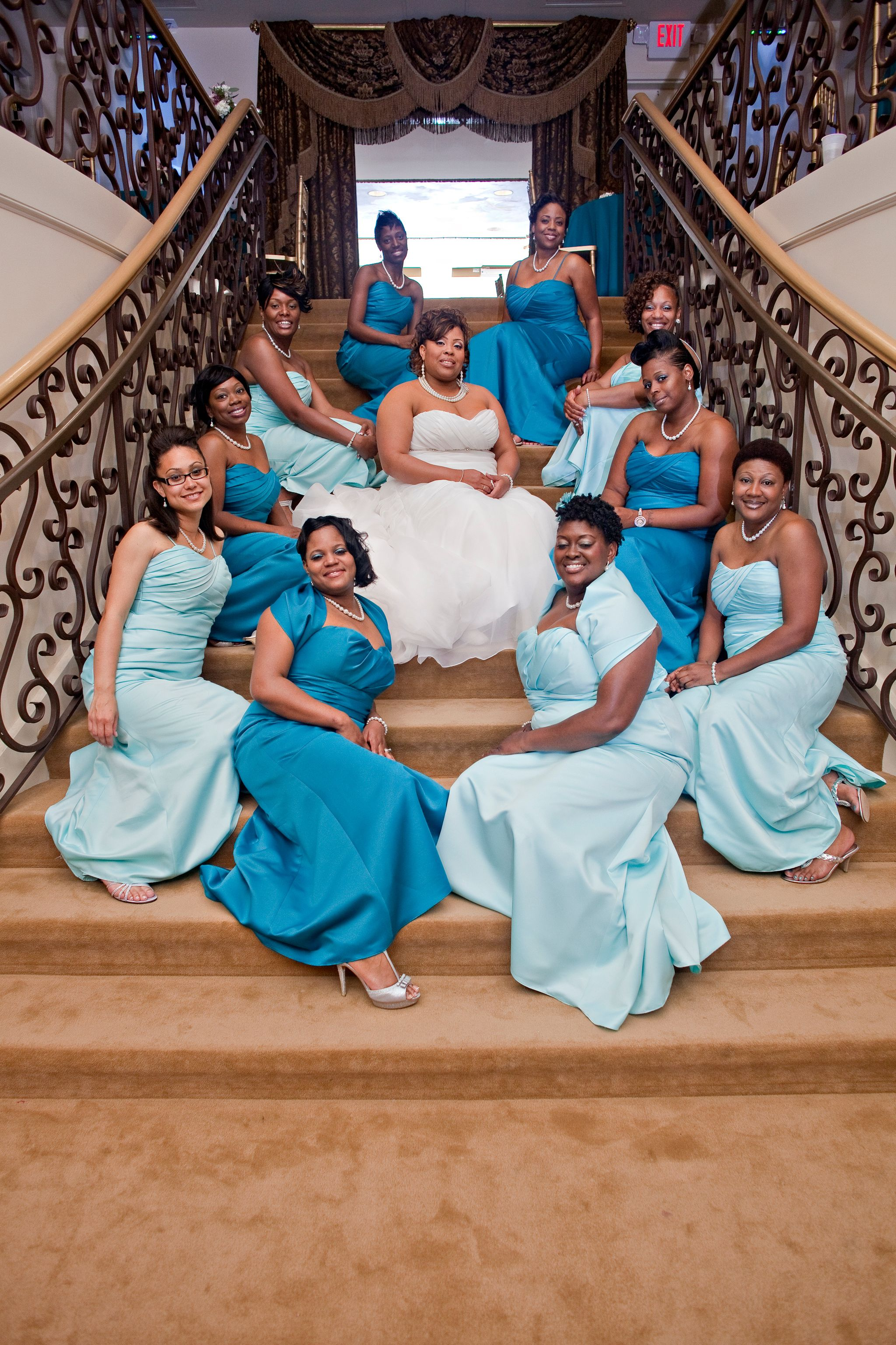 Bridgette tyrale different colored bridesmaid dresses bridgette tyrale different colored bridesmaid dresses anfesas jewelers home of the grand ombrellifo Images
