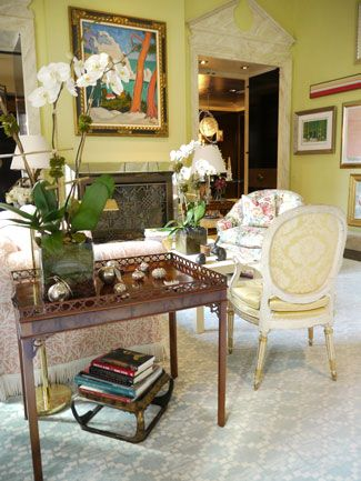 loveisspeed.......: Mario Buatta's New York Apartment..