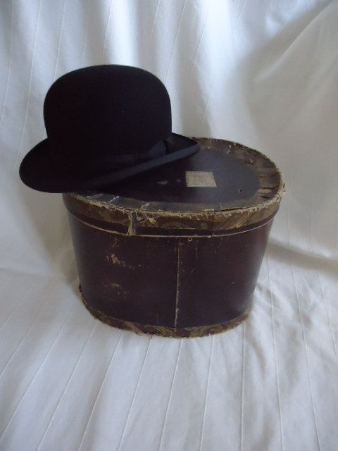 Beautiful French Vintage Bowler Hat In Hats Mossant 1930 Bowler Hat French Vintage Beautiful French