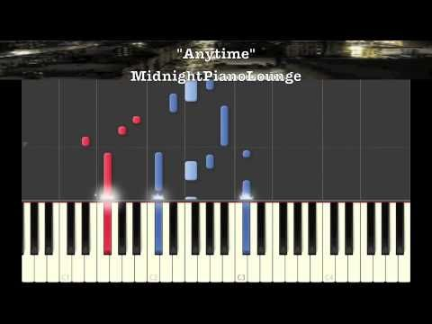 Anytime By Brian Mcknight Piano Tutorial In Bb Minor Piano