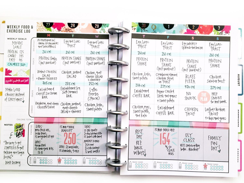 Best 25+ Fitness planner ideas on Pinterest   Happy planner 2017 ...