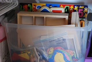 I can do that! So can you...: Rotating Toys Part 1: Organizing toys into bins