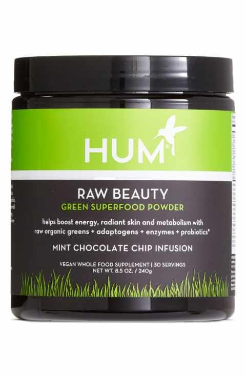 Hum Nutrition Raw Beauty Powder Green Superfood Powder Green Superfood Superfood Powder