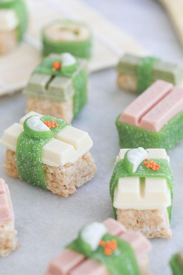 How to Make Kit Kat Sushi #candysushi