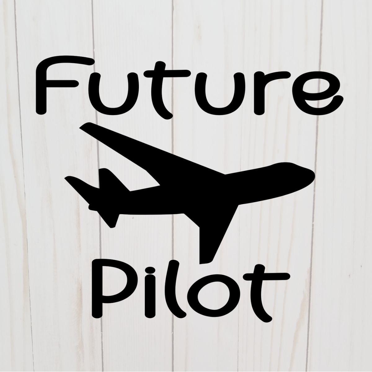 Future airplane pilot svg plane cricut file passenger