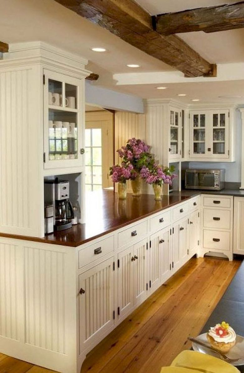Modern Farmhouse Kitchen Cabinet Ideas 34