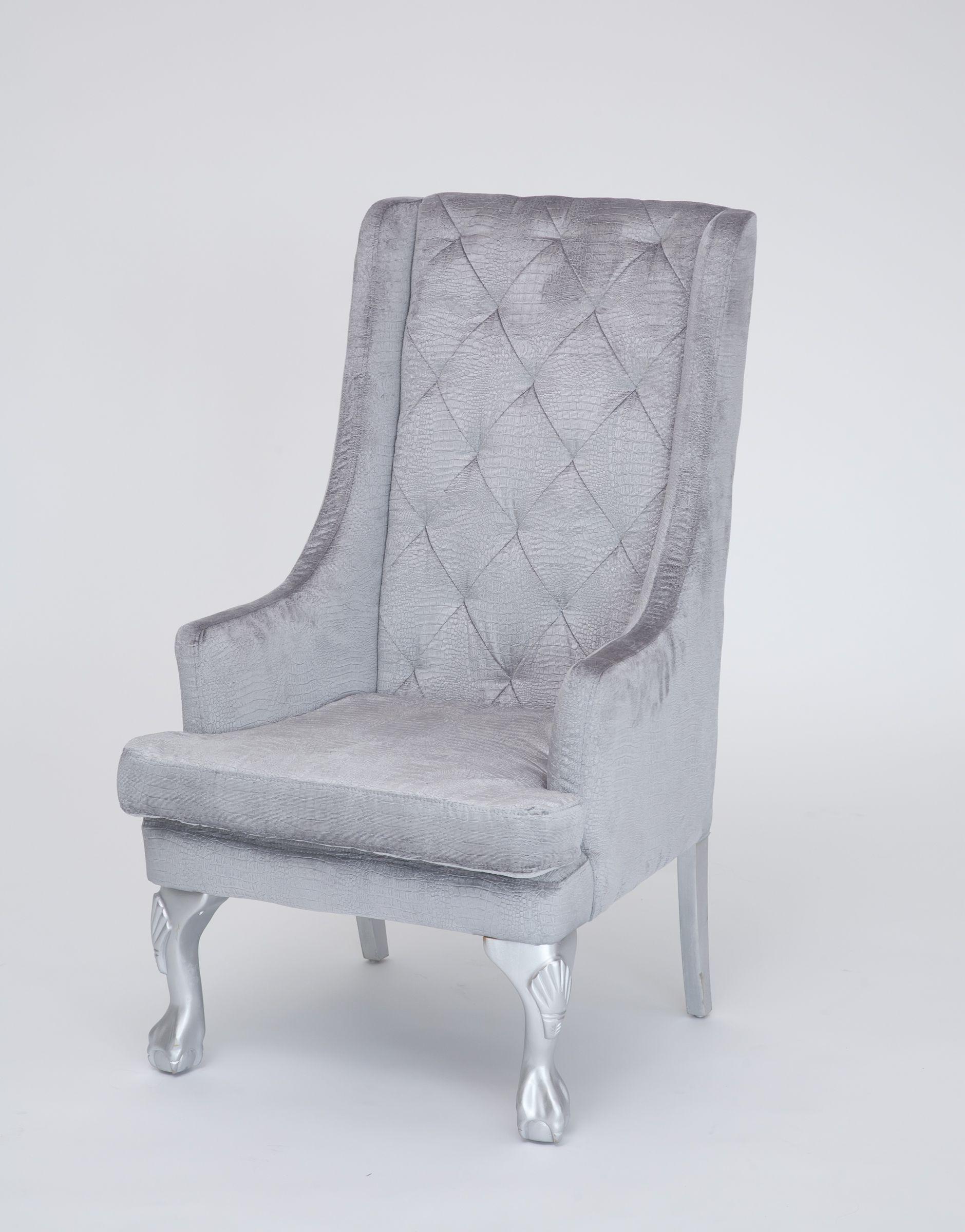 Blau Wingback Sessel Wingback Drehstuhl Mit Hohem Rücken, Flügel Stühle Für  Wohnzimmer Französisch Wing Chair