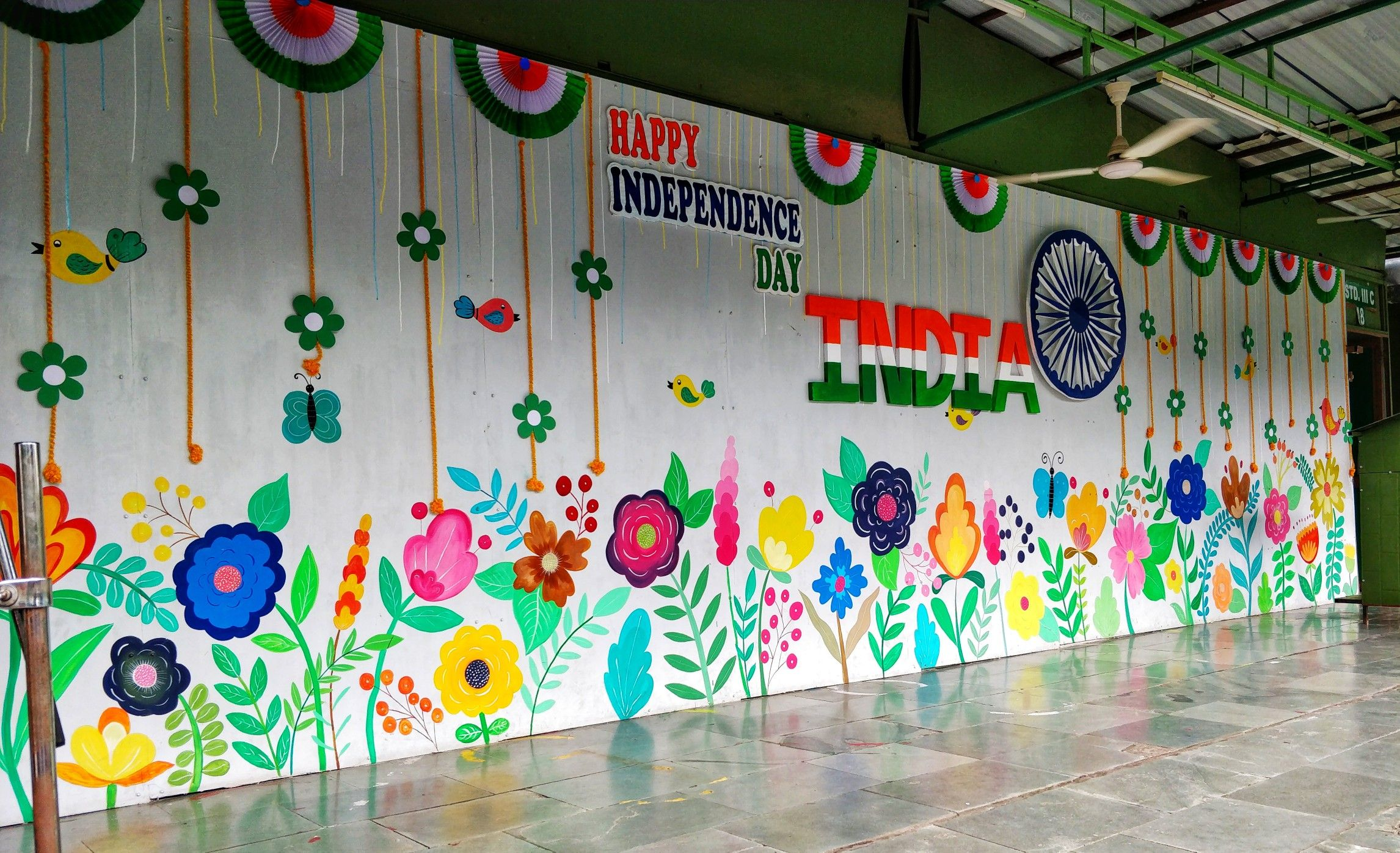 Independence Day India 2019 Independence Day Celebration Independence Day Decoration Stage Decorations Stage School Art Worksheets
