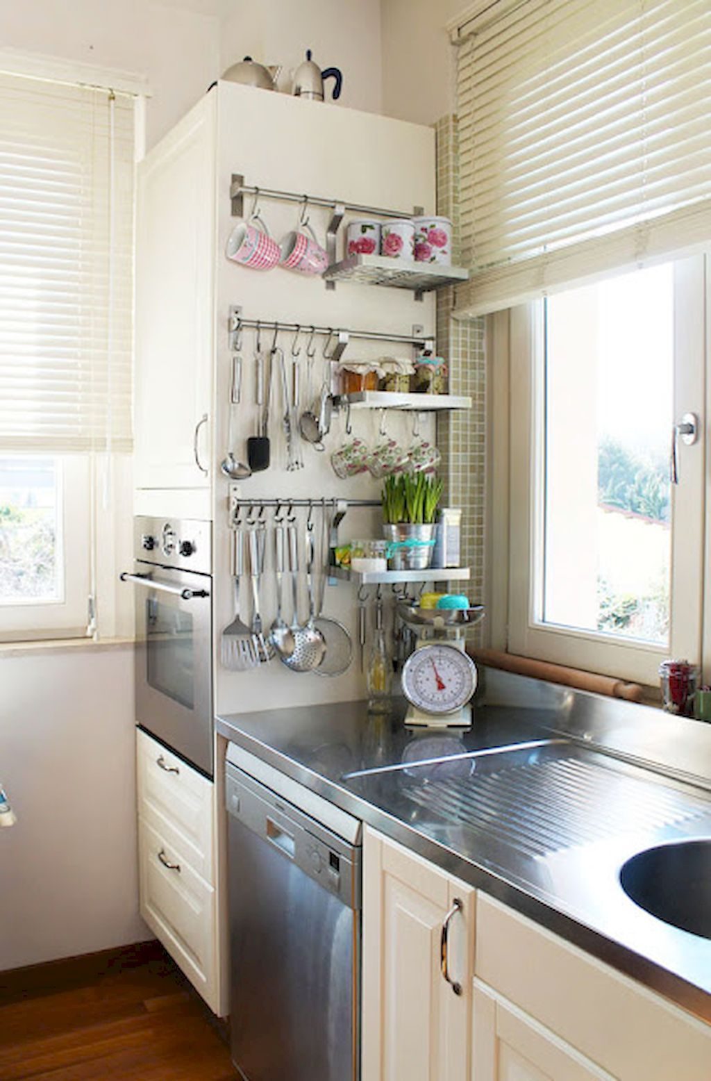 60 Clever & Clean Kitchen Storage Organization Ideas #kitchenremodel