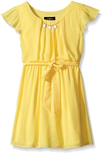 Amy Byer Big Girls Short Sleeve Dress with Necklace, Yell... http://www.amazon.com/dp/B018IVCLZY/ref=cm_sw_r_pi_dp_.syhxb0SS14BD
