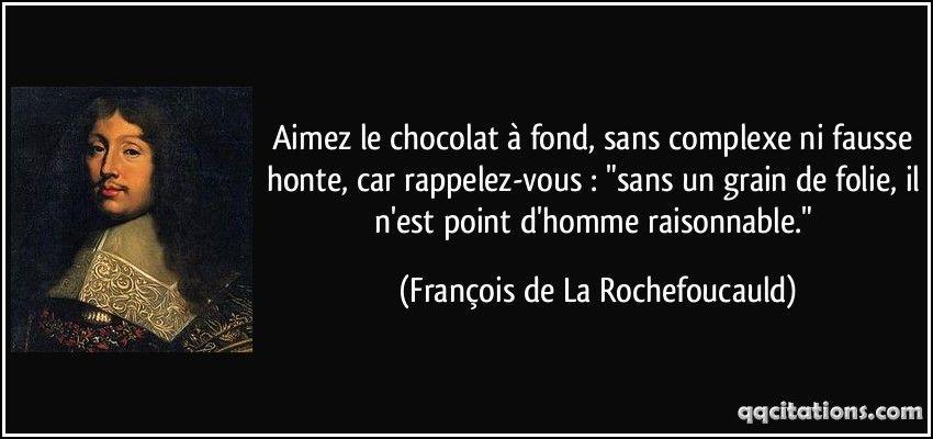 Francois De La Rochefoucauld Texte Citation Citation Et