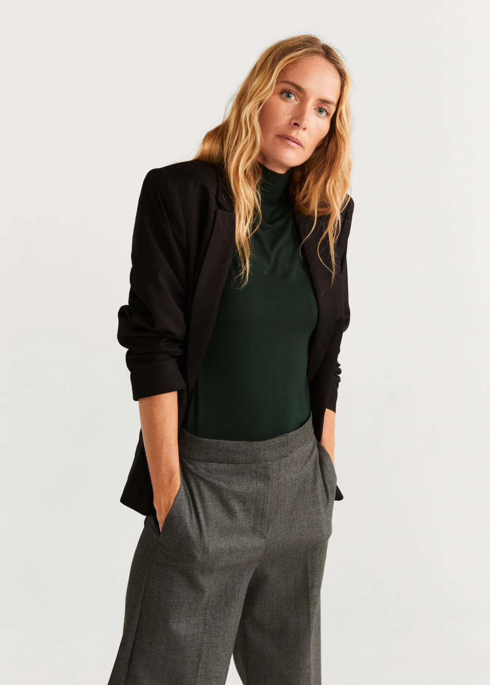 Jupe-culotte chevrons – Femme