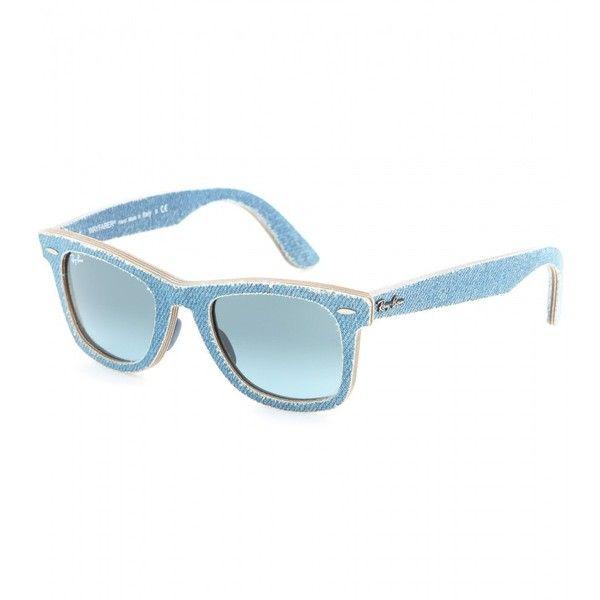 f933becc255 Ray-Ban Wayfarer Denim-Coated Sunglasses (10
