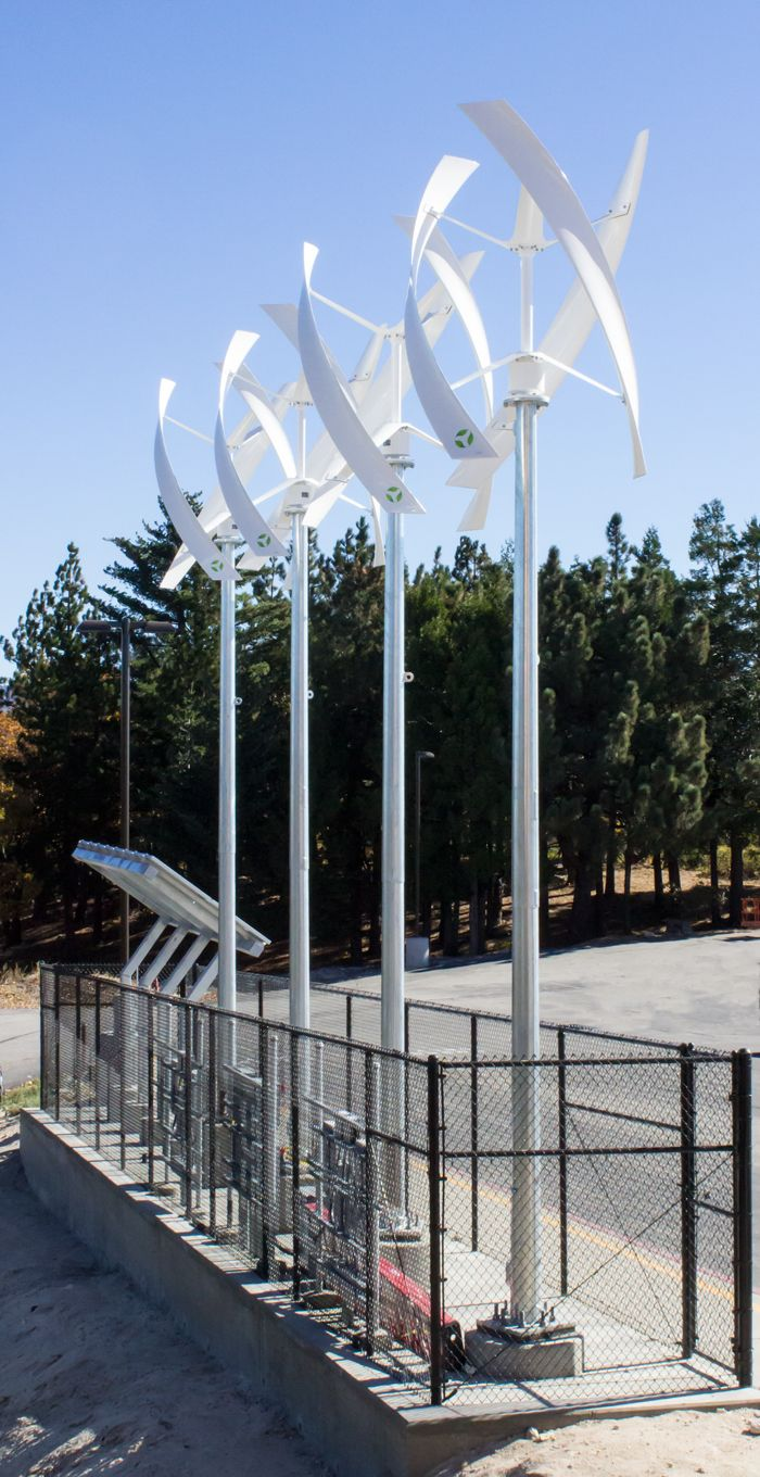 Renewable Energy project at Rim Of The World High School in