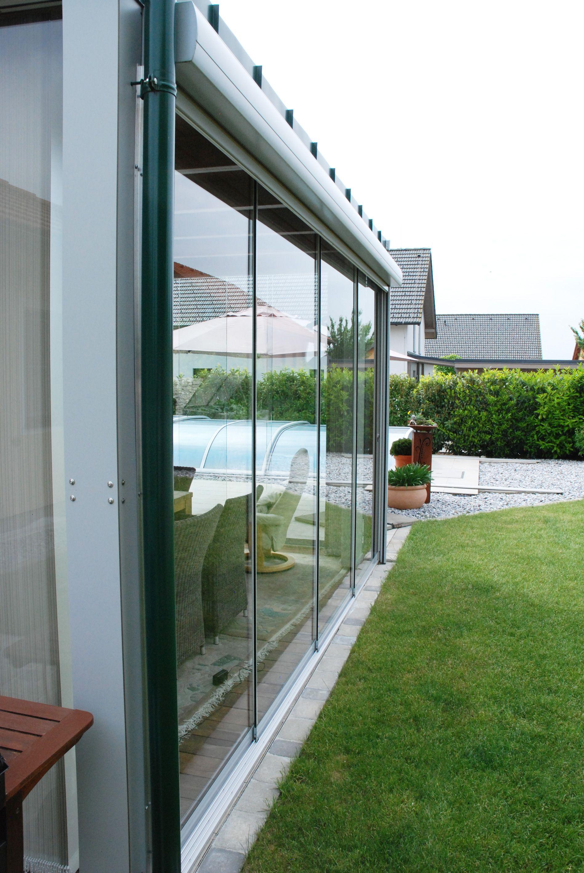 Wintergarten Anbau Windschutz Fur Terrasse Verglasungen