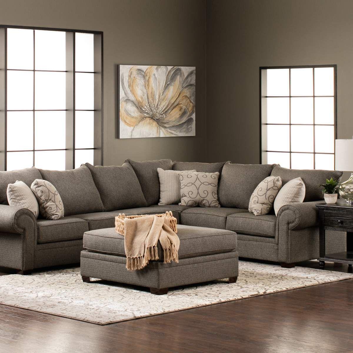 Best Keaton Raf Sofa 1 Arm Laf Sofa In Gray Jerome S 400 x 300