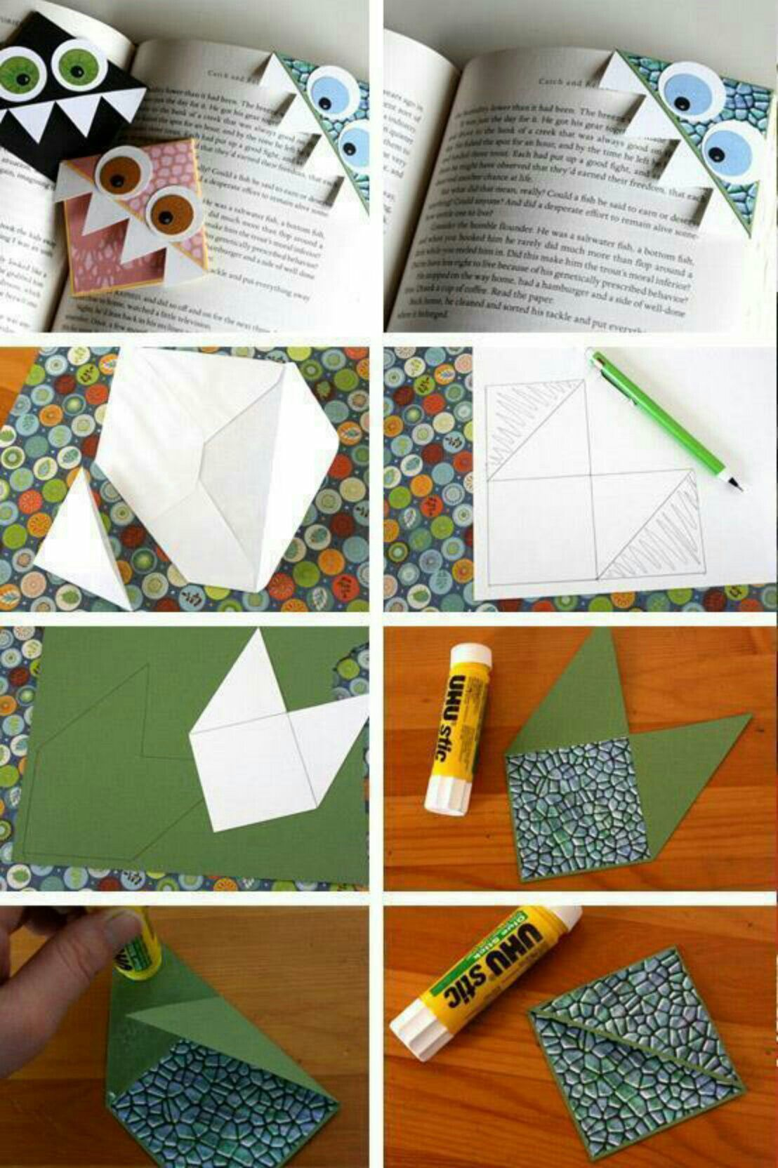 Very creative bookmarks are the one with