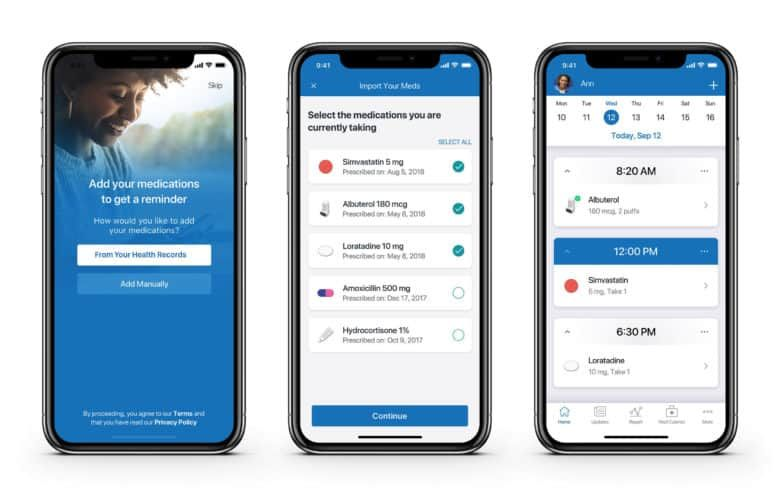 Popular medication tracking app gets Health Records